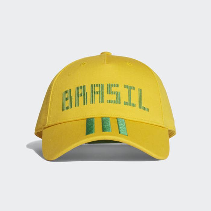 Бейсболка Adidas CF CAP BRA, цвет: желтый. CF5199. Размер 60/62 бейсболка adidas tango m cap s99048