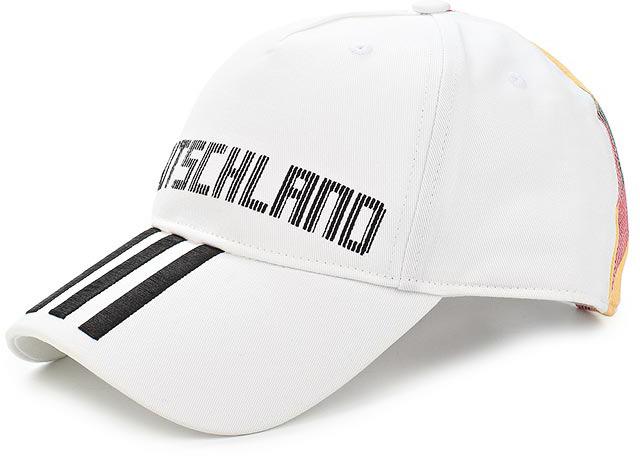 Бейсболка Adidas CF CAP DEU, цвет: белый. CF5196. Размер 60/62 бейсболка adidas tango m cap s99048