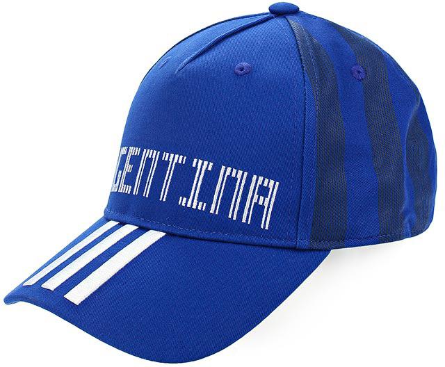Бейсболка Adidas CF CAP ARG, цвет: синий. CF5198. Размер 54/55 adidas adidas компьютер рюкзак птица перо синий aj8528