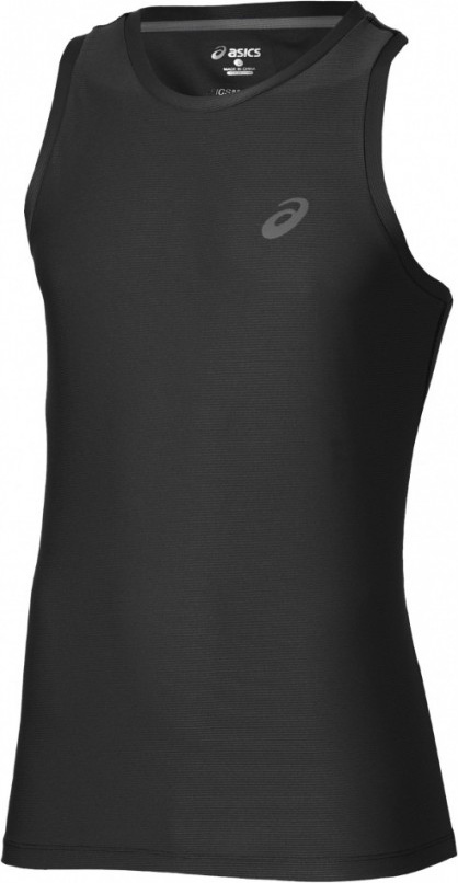 Майка мужская Asics Singlet, цвет: черный. 134082-0904. Размер XL (50)134082-0904