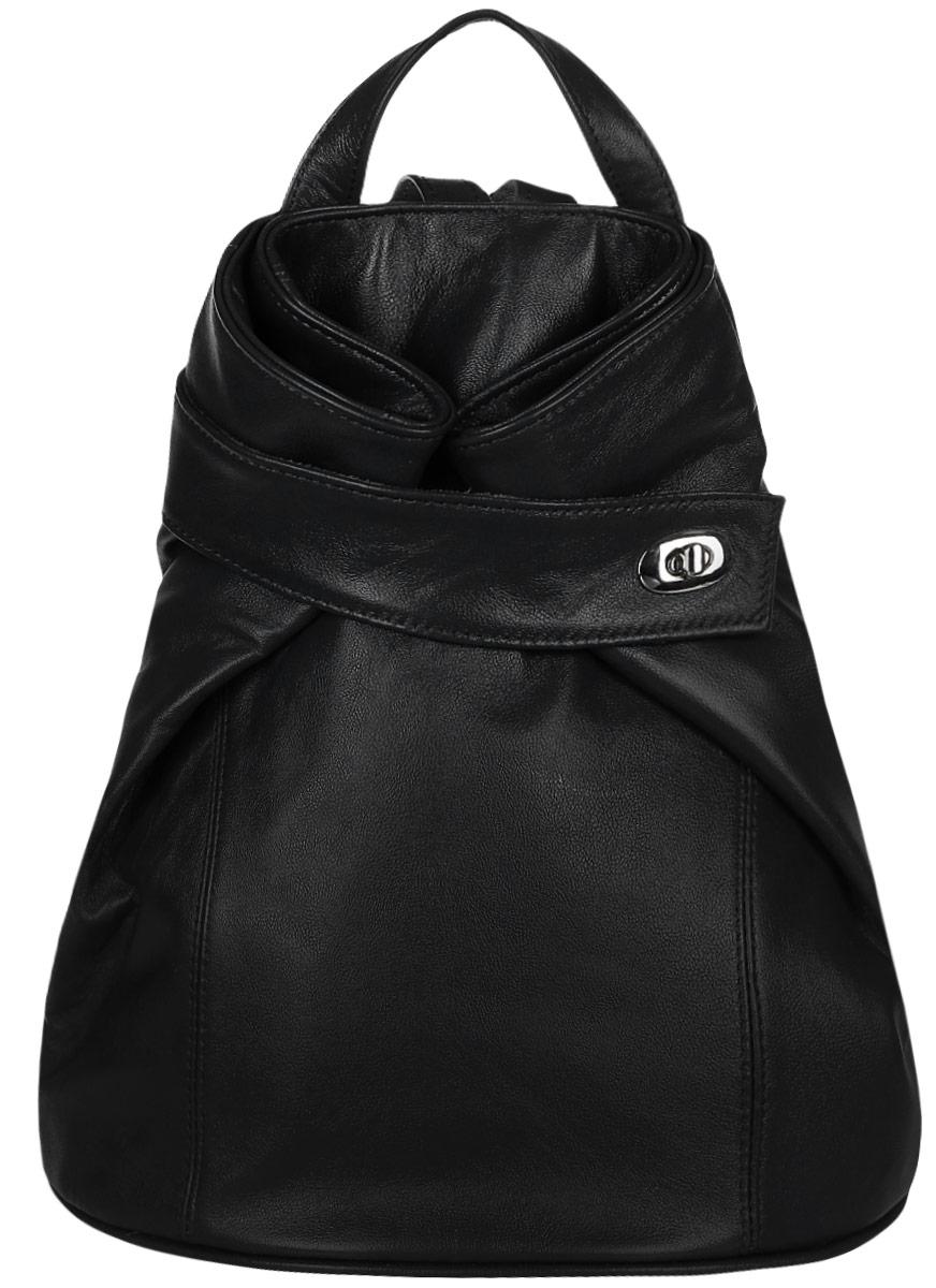 Рюкзак женский Chic a Loco, цвет: черный магнитная лента loco