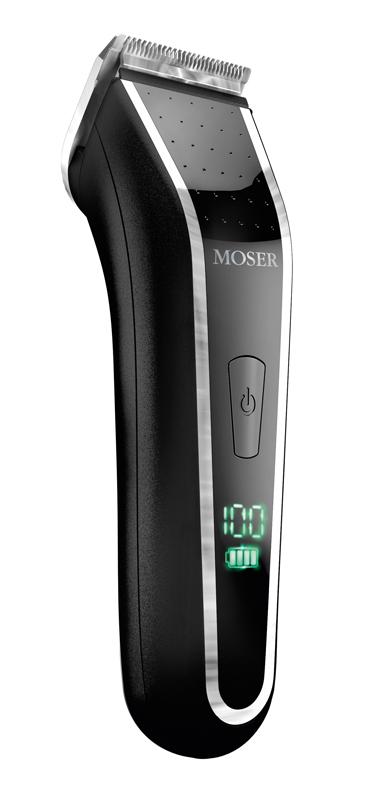 Moser Lithium Pro LED, Black 1902.0460 машинка для стрижки волос игровая консоль sega magistr drive 2 lit 65 игр