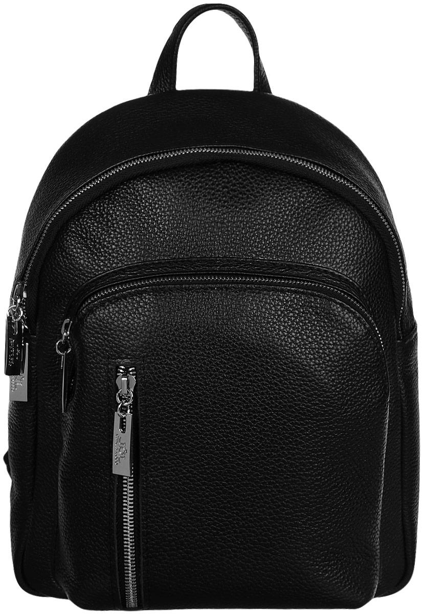 Рюкзак женский Chic a Loco, цвет: черный270с/чернфлотРюкзак женский Chic a Loco из мягкой и приятной на ощупь натуральной кожи. Стильный рюкзак станет финальным штрихом в создании вашего неповторимого образа.
