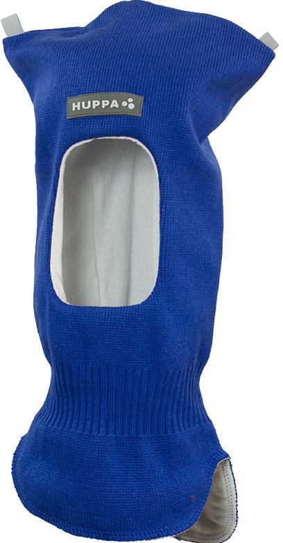 Шапка-шлем детская Huppa Selah, цвет: синий. 85140100-70035. Размер XS (43/45)