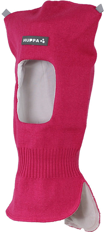 Шапка-шлем детская Huppa Selah, цвет: фуксия. 85140100-70063. Размер XS (43/45) шапка детская huppa шапка зимняя weemi фиолетовый принт