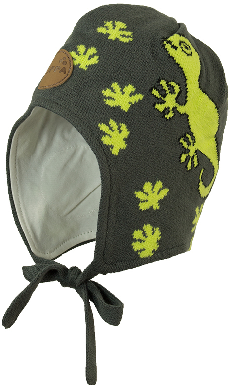 Шапка для мальчика Huppa Silby, цвет: темно-серый. 83710000-00048. Размер XXS (39/41) брюки утепленные huppa huppa hu009egvuh82