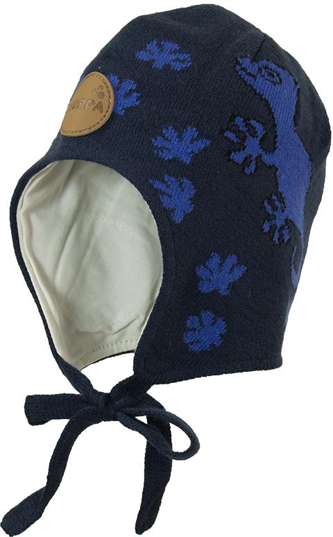 Шапка для мальчика Huppa Silby, цвет: темно-синий. 83710000-00086. Размер XXS (39/41) куртка для девочки huppa janelle цвет темно синий 18020010 00086 размер 158