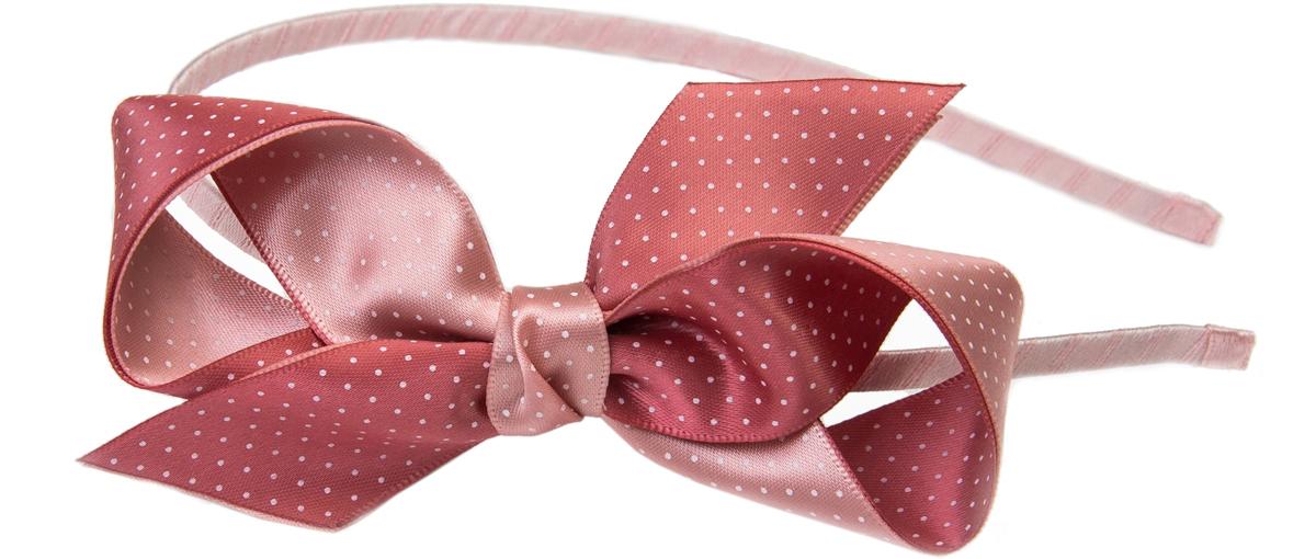 Ободок для волос Malina By Андерсен Глазурь, цвет: розовый. 31604об11 malina by андерсен ободок венок