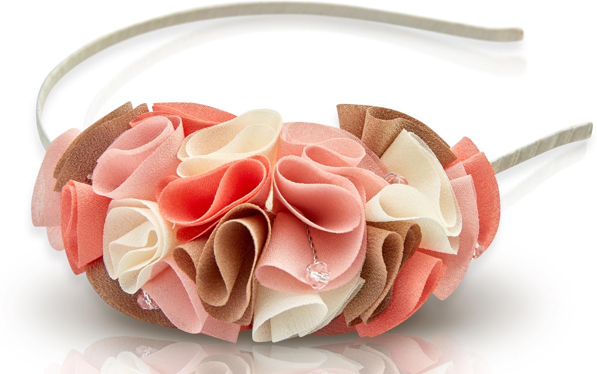 Ободок для волос Malina By Андерсен Мармелад, цвет: розовый. 31612об51 malina by андерсен ободок венок