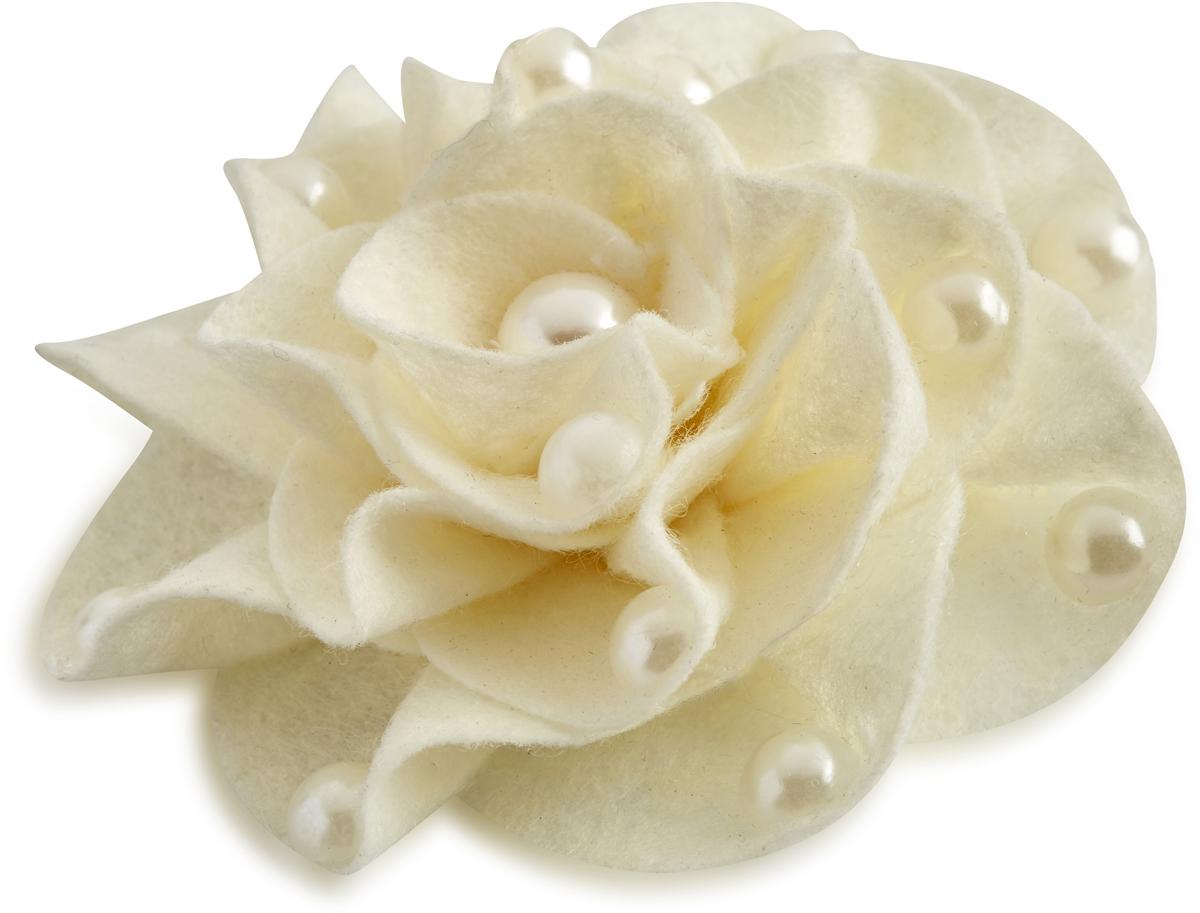Заколка для волос Malina By Андерсен Первый бал, цвет: белый. 41504тб0241504тб02