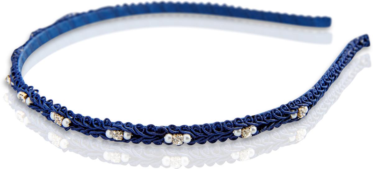 Ободок для волос Malina By Андерсен Карнавальная ночь, цвет: синий. 41603ом42 malina by андерсен ободок венок