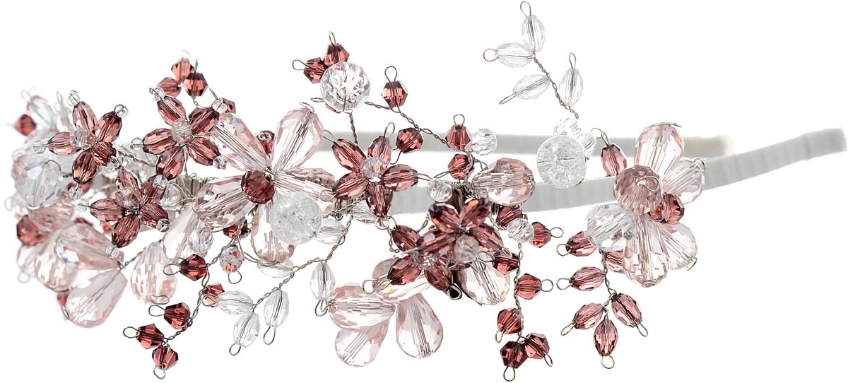 Ободок для волос Malina By Андерсен Эдельвейс, цвет: розовый. 41701об1041701об10