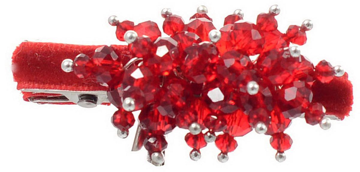 Заколка для волос Malina By Андерсен Монте-роза, цвет: бордовый. 41704тб5341704тб53