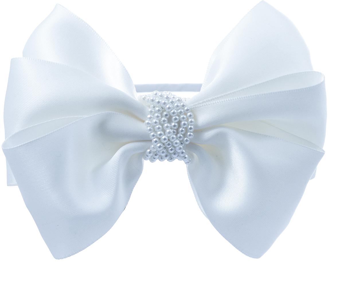 Ободок для волос Malina By Андерсен Монблан, цвет: белый. 41710об0241710об02