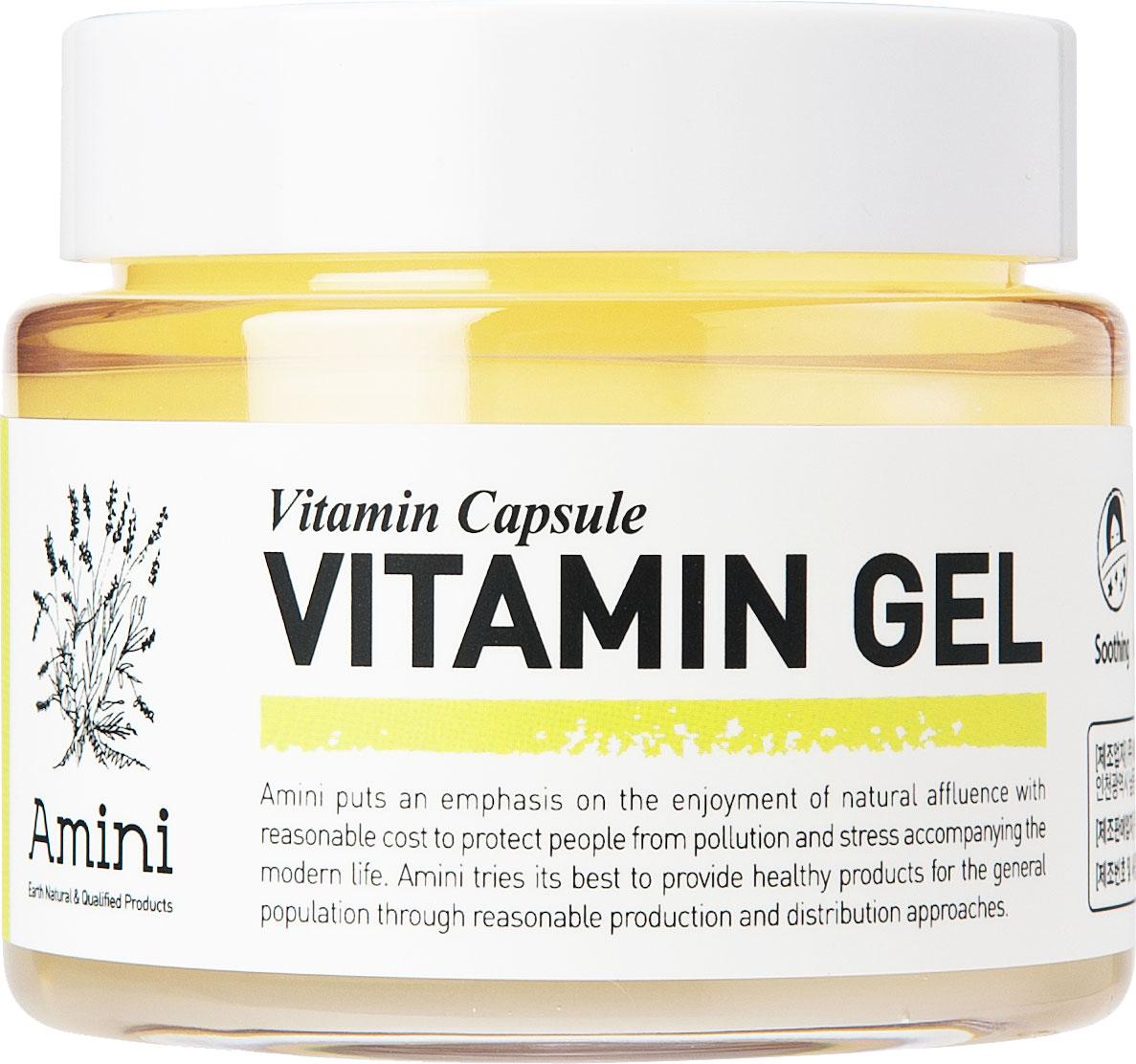 Amini Витаминный гель для лица, 100 мл
