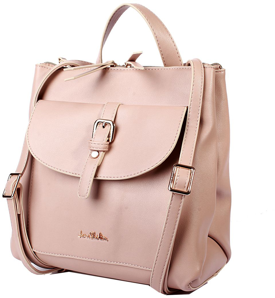 Рюкзак женский Jane Shilton, цвет: светло-розовый. H1019 рюкзак jane shilton jane shilton ja001bwwsp63