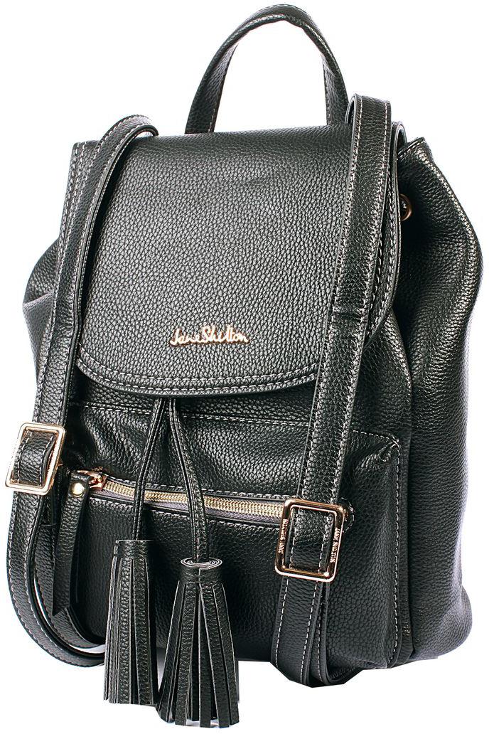 Рюкзак женский Jane Shilton, цвет: черный. H1027