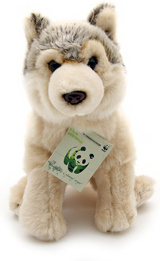 WWF Мягкая игрушка Волк 23 см wwf wwf wwf997