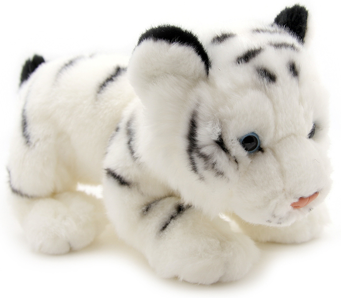 WWF Мягкая игрушка Белый тигр 25 см