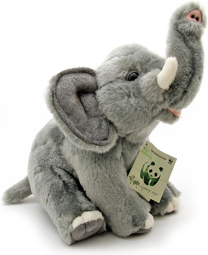 WWF Мягкая игрушка Слон 23 см wwf wwf wwf997