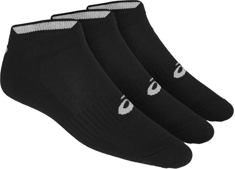 Носки мужские Asics 3PPK Ped, цвет: черный, 3 пары. 155206-0900. Размер 35/38