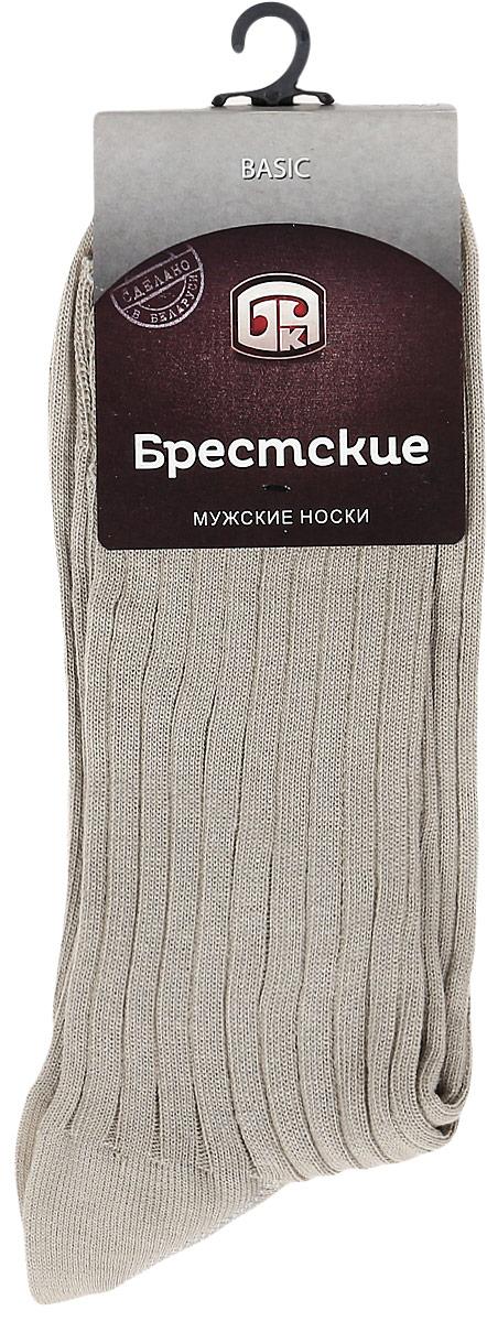 Носки мужские Брестские Basic, цвет: песочный. 14с2220. Размер 25 (40-41)14с2220Мужские носки Брестские Basic выполнены из натурального хлопка. Модель с ослабленной резинкой обладаетповышенной воздухопроницаемостью, комфортна в носке.