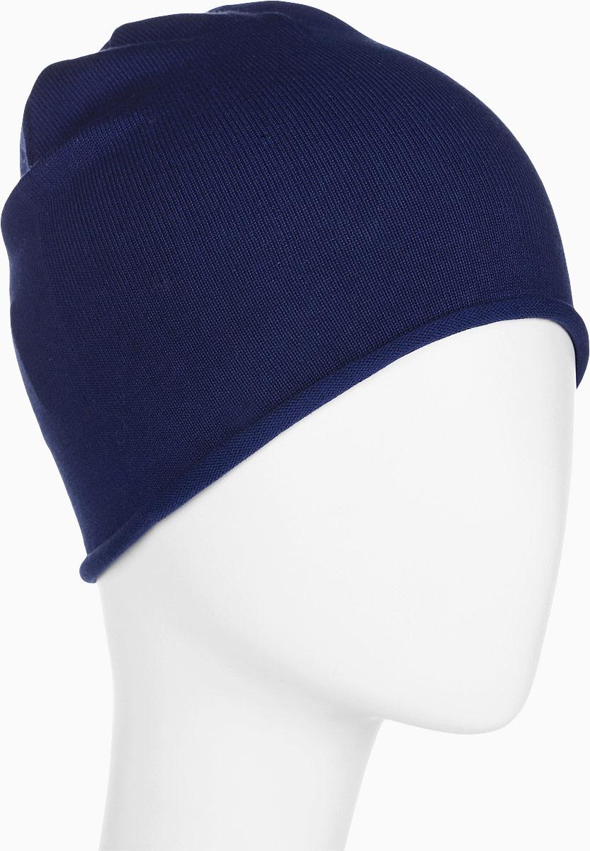 Шапка для девочки Button Blue, цвет: темно-синий. 118BBGX73021000. Размер 52118BBGX73021000Мягкая и комфортная шапка - необходимый предмет гардероба для ребенка. Шапка выполнена в модной цвете и добавит свежую нотку в любой образ. Чтобы порадовать девочку, ей можно купить детскую шапку от Button Blue, отвечающую всем модным требованиям сезона. Модель недорого стоит, имеет лаконичную форму, однотонна, а поэтому подойдет к любой одежде.
