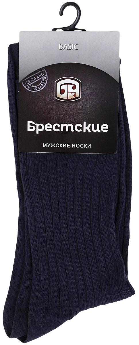 Носки мужские Брестские Basic, цвет: темно-серый. 14с2220. Размер 25 (40-41)14с2220Мужские носки Брестские Basic выполнены из натурального хлопка. Модель с ослабленной резинкой обладаетповышенной воздухопроницаемостью, комфортна в носке.