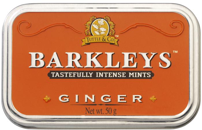 Barkleys Ginger леденцы имбирь, 50 г