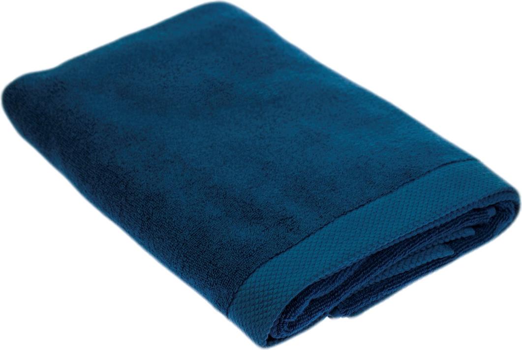 """Полотенце Peche Monnaie """"Olympus"""", цвет: темно-синий, 70 х 140 см"""