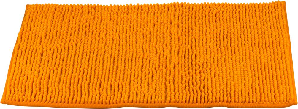 Коврик для ванной Swensa, цвет: оранжевый, 45 х 70 смSWM-3003OR-BКоврик Swensa выполнен из полиэстера – современного и очень нежного на ощупь материала, обладающего рядом полезных свойств. Он не мнется, не теряет форму и легко чистится без специальной подготовки. Полиэстер не пропускает воду и быстро высыхает. При должном уходе он будет дарить уют и комфорт многие годы, не теряя отличного внешнего вида.