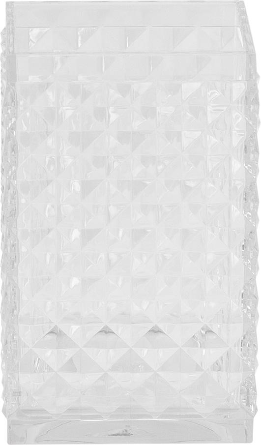 Стакан для ванной комнаты Swensa Rapas, цвет: прозрачный, 200 млSWP-0660TRP-CСтакан Swensa Rapas с фактурным рисунком в виде льдинки предназначен для размещения в ванной комнате и для хранения и содержания в опрятном состоянии аксессуаров для ванной комнаты. Настольный аксессуар может служить декоративным элементом и дополнять художественное оформление помещения. Стакан выполнен из прочного пластика. Аксессуар не боится воздействия влажной среды и перепадов температуры, имеет прочные, ровно обработанные края, приятный на ощупь внешний слой.