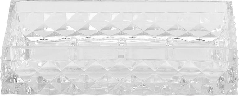Мыльница Swensa Rapas, цвет: прозрачный, 12 х 8,5 х 2,5 смSWP-0660TRP-DМыльница Swensa Rapas станет прекрасным декоративным украшением любого интерьера и позволит организовать порядок в Вашей ванной комнате. Мыльница выполнена в классической прямоугольной форме, в качестве материала использован прочный пластик. Уход за мыльницей не составит особого труда: достаточно промывать ее теплой водой по мере необходимости и протирать насухо.