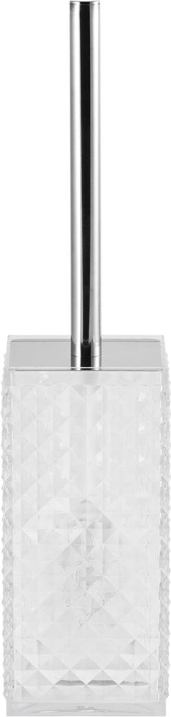 Ершик для унитаза Swensa Rapas, цвет: прозрачныйSWP-0660TRP-EЕрш Swensa Rapas – практичное дополнение к сантехническому оборудованию в ванной комнате. Аксессуар предназначен для санитарно-гигиенической чистки и ухода за унитазом. Ерш состоит из эргономичной ручки, жесткой синтетической щетины и вместительная колба-подставка, которая выполнена из прочного пластика. Такая конструкция рабочей части аксессуара гарантирует максимально эффективное использование. Классическая форма и дизайн будут хорошо смотреться в санузле, и создавать атмосферу чистоты.
