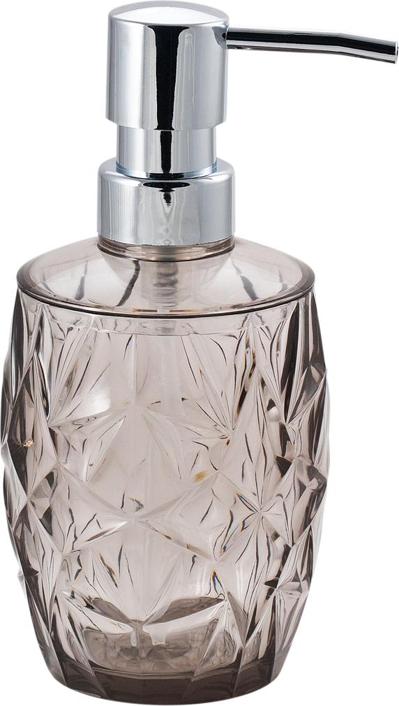Диспенсер для мыла Swensa Asti, цвет: серый, 250 млSWP-0670SM-AДозатор для жидкого мыла из серии аксессуаров Swensa Asti станет украшением любой ванной комнаты. Мягкие линии и элегантная форма емкости эффектно контрастируют со стальным блеском верхней части дозатора. Пластиковый дозатор устойчив и не опрокинется при сильном нажиме. При помощи такого приспособления можно не только придать ванной комнате более элегантный вид, но и экономить в будущем, покупая большие упаковки жидкого мыла без дозаторов.