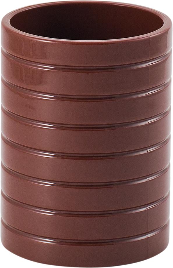 Стакан для ванной комнаты Swensa Trento, цвет: шоколадный, 200 млSWP-0680CHL-CСтакан для ванной комнаты Swensa Trento – элегантное и изысканное решение для ванной комнаты. Он целиком выполнен из пластика, что гарантирует прочность изделия и простоту ухода. Материал неприхотлив и не боится воздействия химических веществ. Изделие не выделяется на фоне других принадлежностей, оставаясь при этом уникальным и необычным.