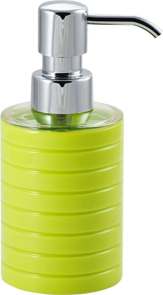 Диспенсер для мыла Swensa Trento, цвет: зеленый, 250 млSWP-0680GR-AДозатор для жидкого мыла Swensa Trento станет незаменимымпомощником для проведения ежедневных гигиенических процедур.Представленная модель изготовлена из пластика, прочного материала,который обезопасит изделие от любых нежелательных воздействий иповреждений. Стильный универсальный дизайн изделия позволит ему статьзаметным и интересным акцентом в любом интерьере.