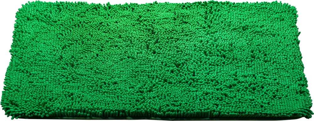 Коврик для ванной Brissen Chenille, цвет: зеленый, 90 х 60 смBSM-8000-GreenКоврик Brissen Chenille выполнен из полиэстера – современного и очень нежного на ощупь материала, обладающего рядом полезных свойств. Он не мнется, не теряет форму и легко чистится без специальной подготовки. Полиэстер не пропускает воду и быстро высыхает, его легко чистить. При должном уходе он будет дарить уют и комфорт многие годы, не теряя отличного внешнего вида.