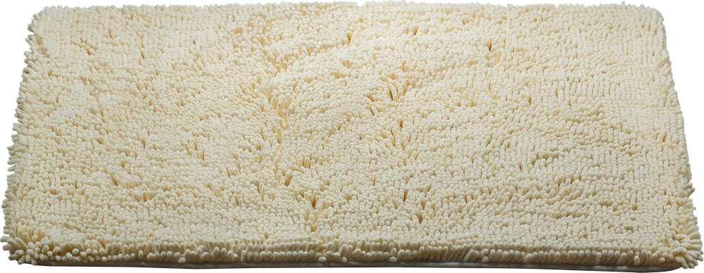 Коврик для ванной Brissen Chenille, цвет: ваниль, 90 х 60 смBSM-8000-VanillaКоврик Brissen Chenille выполнен из полиэстера – современного и очень нежного на ощупь материала, обладающего рядом полезных свойств. Он не мнется, не теряет форму и легко чистится без специальной подготовки. Полиэстер не пропускает воду и быстро высыхает, его легко чистить. При должном уходе он будет дарить уют и комфорт многие годы, не теряя отличного внешнего вида.