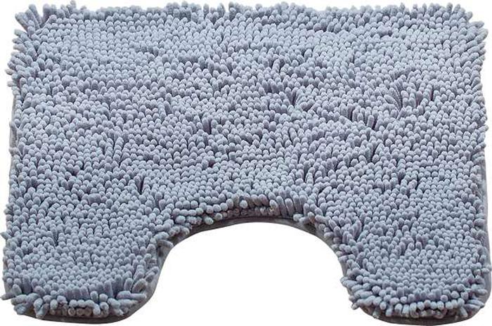 Коврик для туалета Brissen Chenille, цвет: серый, 50 х 50 смBSMT-8000-GreyКоврик для туалета Brissen Chenille – необходимый элемент декора санузла. Модель выполнена из микрофибры с длинным, мягким ворсом. Коврик приятен на ощупь и не вызывает аллергических реакций. Полиэстер хорошо впитывает влагу и быстро высыхает. Этот материал не подвержен образованию плесени и вредоносных микроорганизмов, в нем не заводится моль. Коврик не скользит на полу, прост в уходе и долговечен.