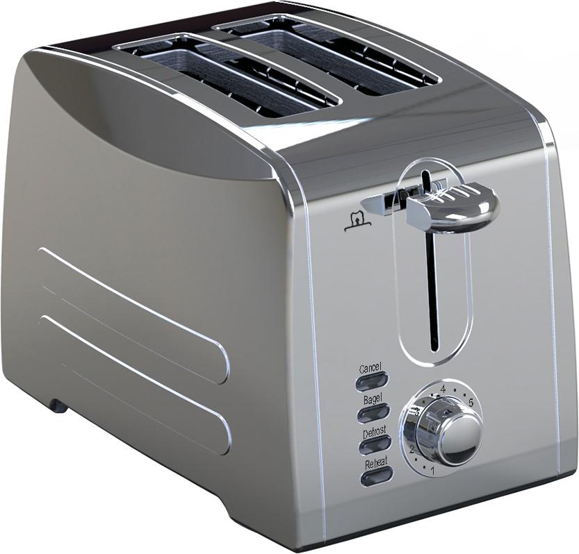 Gemlux GL-T-2S, Silver тостер - Тостеры
