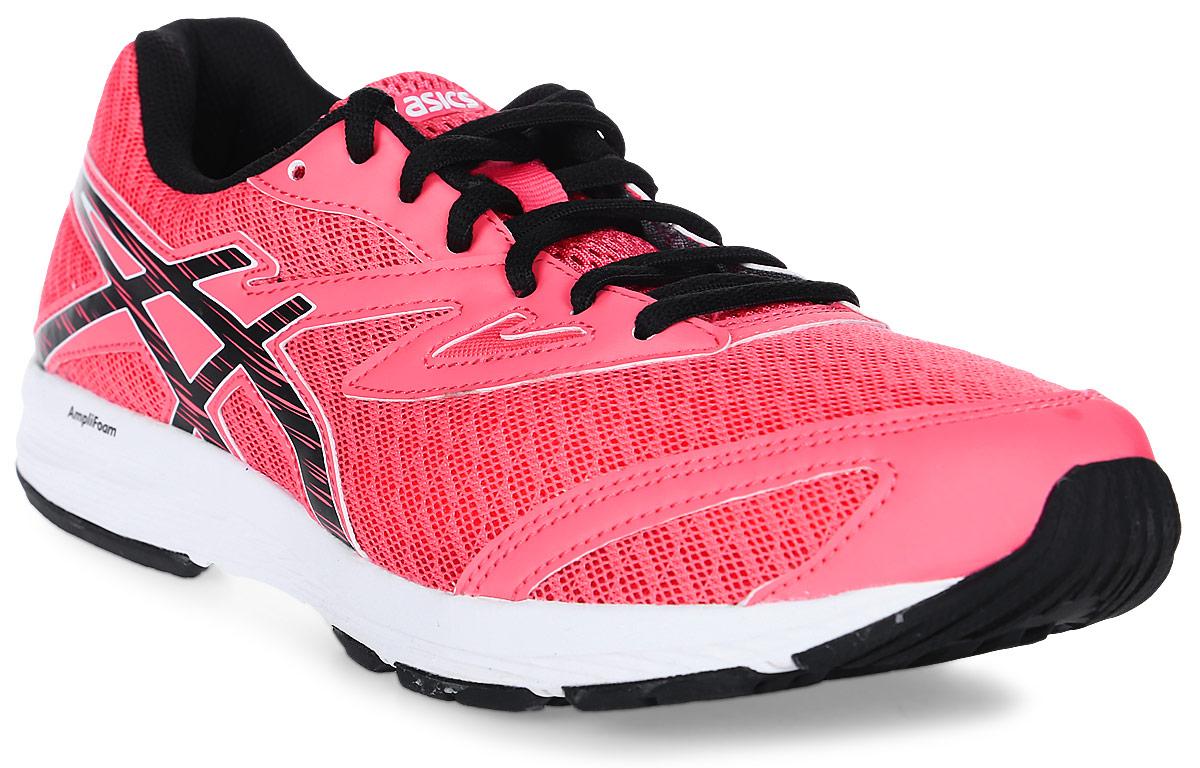Кроссовки для девочки Asics Amplica GS, цвет: розовый. C808N-2090. Размер 6 (37,5)C808N-2090Легкие кроссовки Asics Amplica GS предназначены для бега и ходьбы на улице. Прочная модель для бега, тренировок и ходьбы в течение всего дня. Кроссовки дополнены шнуровкой.