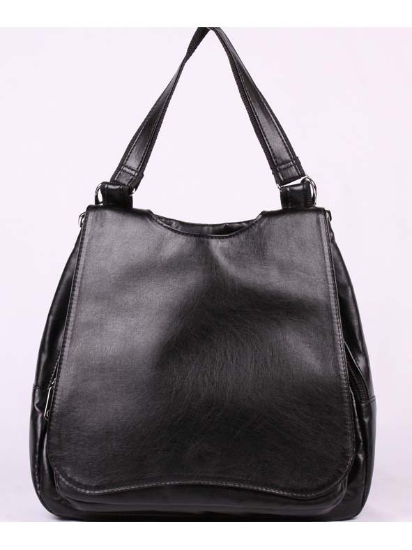 Рюкзак женский Медведково, цвет: черный. 17с0410-к14