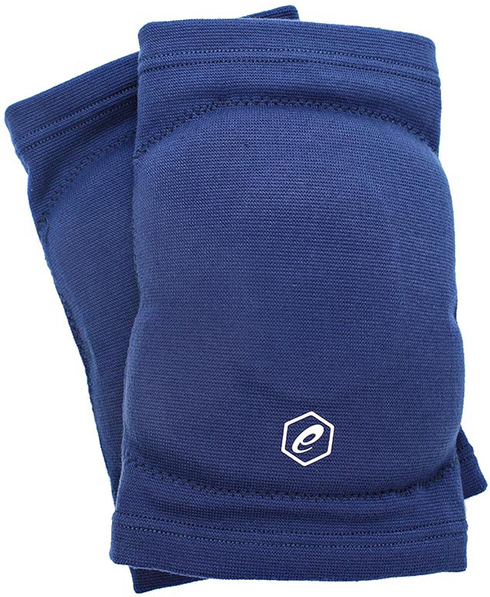 Наколенники волейбольные Asics Gel Kneepad, цвет: синий. Размер L146815Наколенники Asics Gel Knee Pad для профессиональных игроков в волейбол. Вставки амортизирующего геля (Asics Gel) и пены (полиуретан) эффективно поглощают удары и принимают форму в соответствии с индивидуальными анатомическими особенностями спортсмена.Обхват ноги в области над коленной чашечкой: 38-42 см.
