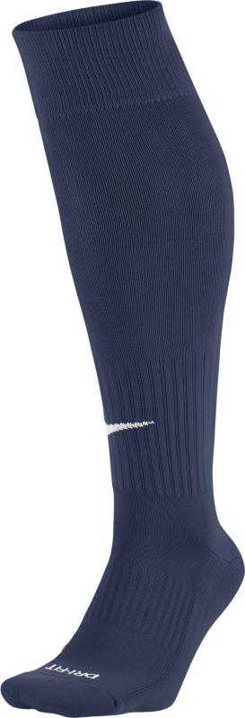 Гетры футбольные Nike Classic, цвет: синий. SX4120-401. Размер XL lace trim over the knee fishnet socks