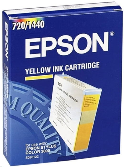 Epson S020122, Yellow картридж для Stylus Color 3000/Pro 5000 4pack 1black 1cyan 1magenta 1yellow s020118 s020130 s020126 s020122 compatible for epson stylus color 3000