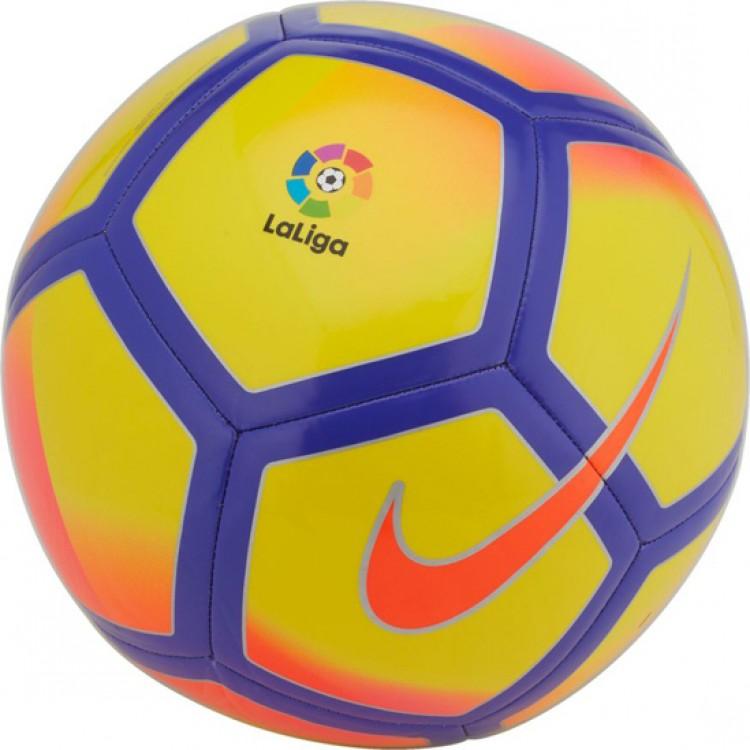 Мяч футбольный Nike Premier League Pitch Football, цвет: желтый, синий, красный. Размер 5SC3137-711Premier League Pitch Football ПРЕВОСХОДНОЕ КАСАНИЕ МЯЧА. ВЫСОКОКОНТРАСТНЫЕ ДЕТАЛИ. Футбольный мяч Premier League Pitch с высококонтрастной графикой хорошо заметен во время игры и тренировок. Прочная упругая конструкция обеспечивает точную траекторию полета мяча.Конструкция из 32 панелей для прочности.Машинная строчка на покрышке из материала TPU для стабильной игры.Высококонтрастная графика делает мяч хорошо заметным.Эмблема Английской Премьер-лиги по центру мяча.60% РЕЗИНА15% ПОЛИУРЕТАН13% ПОЛИЭСТЕР12% EVA