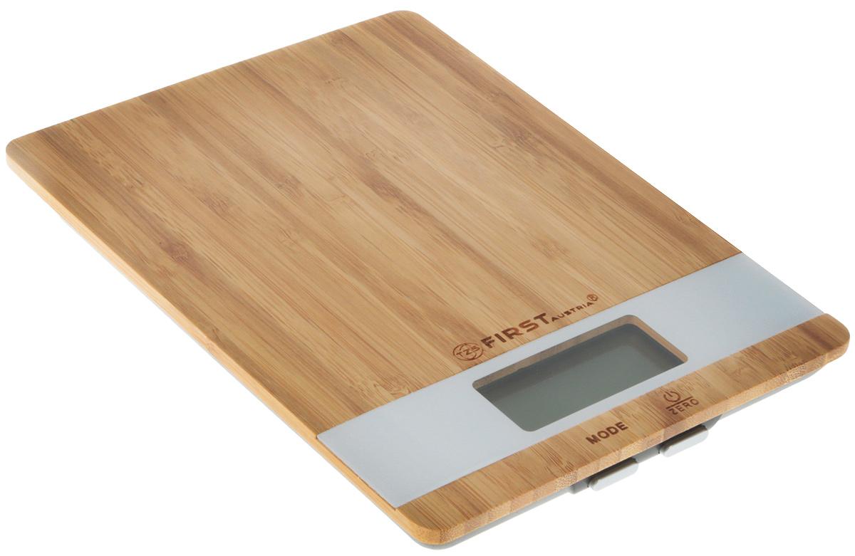First FA-6410 Special Edition, Brown кухонные весы