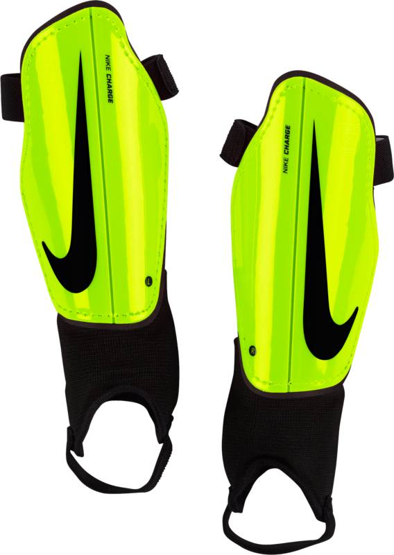 Щитки футбольные детские Nike Charge 2.0, цвет: желтый. Размер LSP2079-702Детские футбольные щитки Nike Charge 2.0 обеспечивают дополнительный слой защиты на поле. Анатомическая форма каркаса из полипропилена с низким профилем обеспечивает комфорт, а подкладка из пеноматериала EVA создает дополнительную защиту. Анатомическая форма повторяет контуры голени, а отсутствие застежек обеспечивает оптимальный комфорт. Полипропиленовый каркас с низким профилем защищает от ударных нагрузок. Литая прослойка из пенистого ЭВА для дополнительной защиты там, где это необходимо. Внешние желобки для умеренной гибкости.