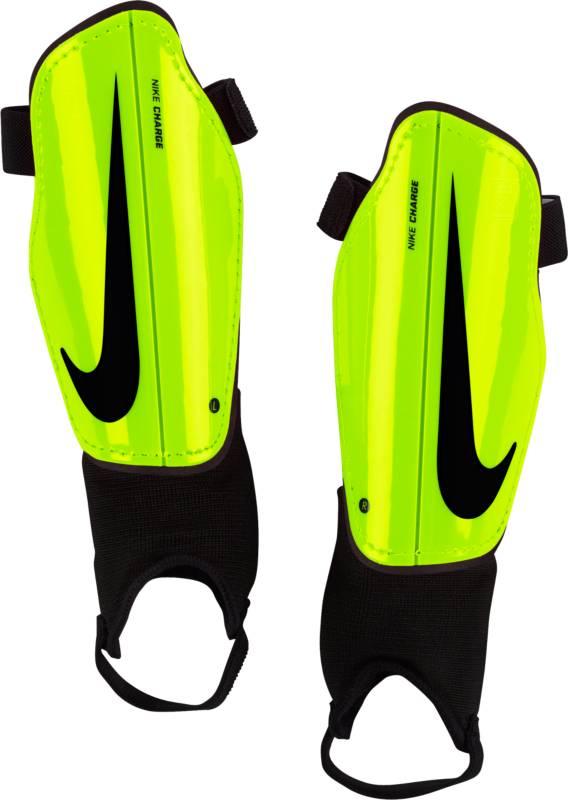 Щитки футбольные детские Nike Charge 2.0, цвет: желтый. Размер SSP2079-702Детские футбольные щитки Nike Charge 2.0 обеспечивают дополнительный слой защиты на поле. Анатомическая форма каркаса из полипропилена с низким профилем обеспечивает комфорт, а подкладка из пеноматериала EVA создает дополнительную защиту. Анатомическая форма повторяет контуры голени, а отсутствие застежек обеспечивает оптимальный комфорт. Полипропиленовый каркас с низким профилем защищает от ударных нагрузок. Литая прослойка из пенистого ЭВА для дополнительной защиты там, где это необходимо. Внешние желобки для умеренной гибкости.